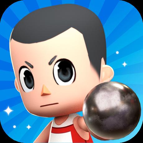 ハンマー投げ - おもしろいゲーム(RANK15到達)のポイント対象リンク